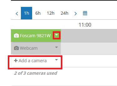 Add Camera Wizard